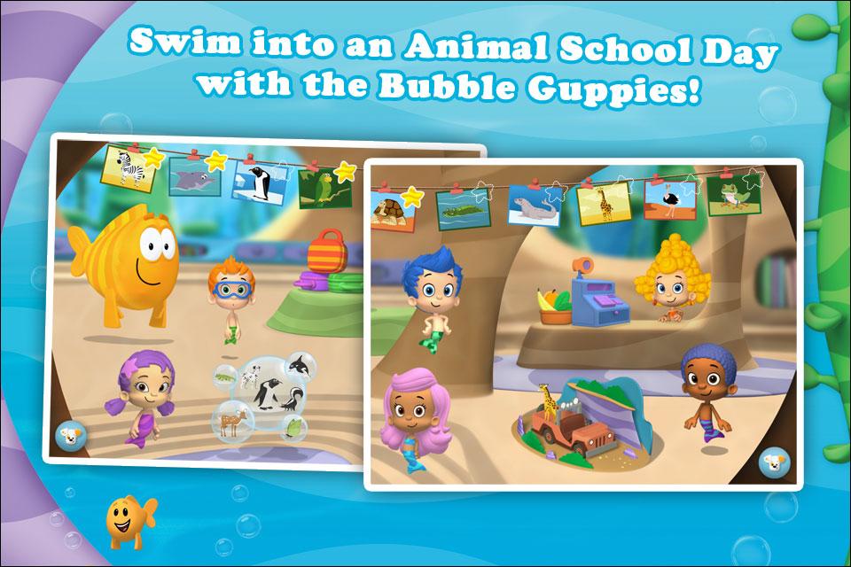 Bubble guppies animal school day par mtv networks - Jeux bubble guppies ...