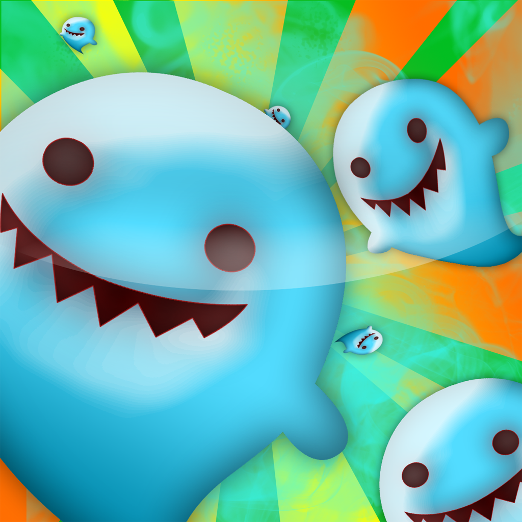 A Addictive Ghost Puzzle Game Free: Funny and challenging ghost crushing game for kids